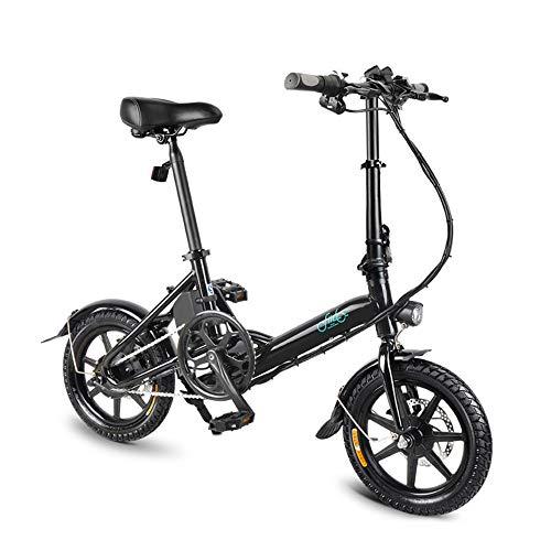 Lixada 14 Inch Folding Power Assist Electric Bicycle Moped E-Bike Bicicleta eléctrica 250W Brushless Motor 36V 7.8AH