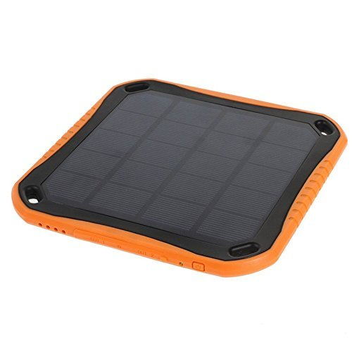 Extreme ECO Solar Charger Works with Razer Phone! Doubles as a PowerBank That's Almost Indestructible, Bright LED Light, Rapid Fast Turbo Speeds! (2.1A/5600mah) by Success4Sport