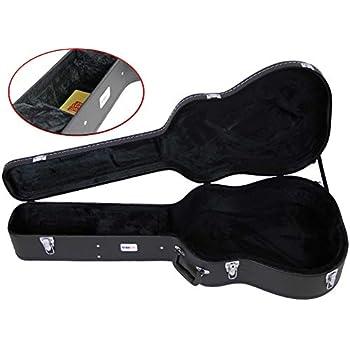 Carrion C-1501 Black Hardshell Dreadnaught Acoustic Guitar Case