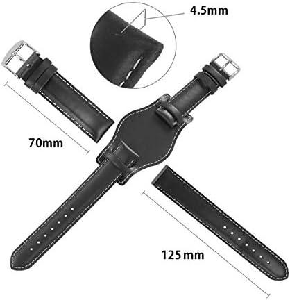 CASSIS[カシス] カーフ 時計ベルト 裏面防水素材 TYPE NATO PROTECTOR 2 タイプナトープロテクターツー 20mm ブラック 交換用工具付 U1023050019020M