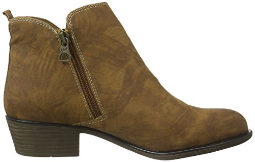 s.Oliver 25302, Botines para Mujer Marrón (MUSCAT 311)