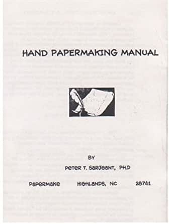 hand papermaking terms The international paper museum is located in brookline, massachusetts, and features dynamic exhibitions relating to historical hand papermaking from all over the world.