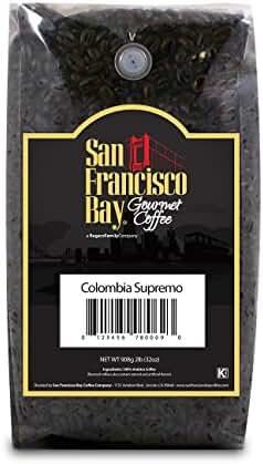 San Francisco Bay Coffee Whole Bean, Colombian Supremo, 32 Ounce