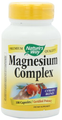 Way magnésium complexes, 100 capsules de Nature (pack de 2)