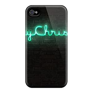 New Arrival AccDavid Hard Case For Iphone 4/4s (uEU2956NGTP)