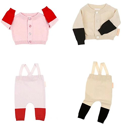 Evelin LEE Autumn Winter Toddler Baby Boys Girls Sweaters Fashion Thick Casual Tiny Cotton Knitting Cardigans