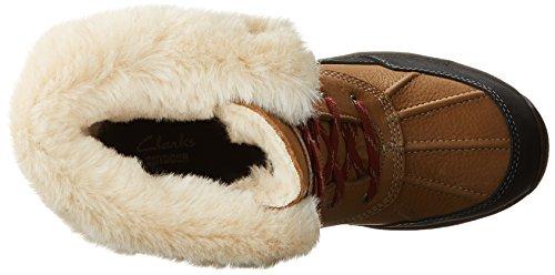 Clarks Artico Venture Freddo Tempo Stivali Cammello