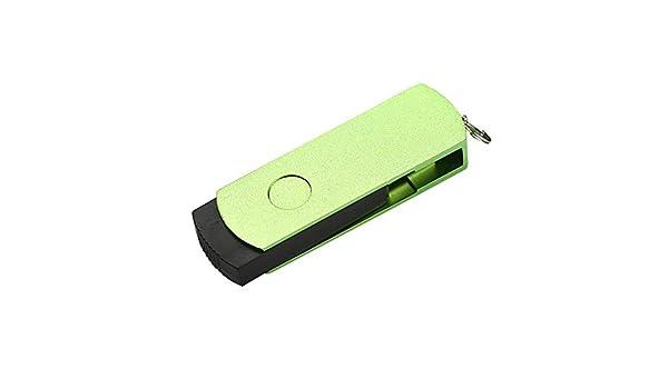 daliuing Pendrive USB 2.0 16 GB De memoria de metal Mecánico USB Flash Flash Drive USB Thumb Drive U disco para ordenador/Laptop, color verde 4GB: Amazon.es: Oficina y papelería
