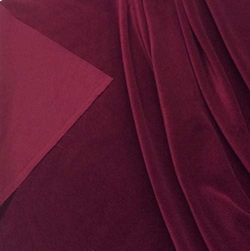 Truly Sumptuous - Tela de Terciopelo para Costura (5 m, algodón ...
