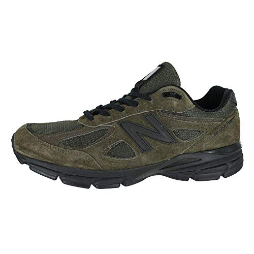 New Balance Men's M990v4 Running Shoe, Military Green , 13 D US