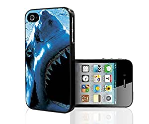 Shark Close up Hard Snap on Phone Case (iPhone 5/5s) by supermalls