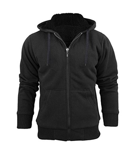 Sherpa Lined Hoodies - 3