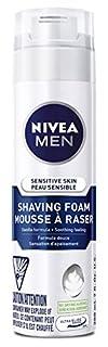 NIVEA MEN Senstive Skin Shaving Foam, 200 mL (B00BO0B5Y0)   Amazon Products