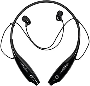 Universal Bluetooth Wireless Headset Earphone Headset For Galaxy S2 S3 S4 Black