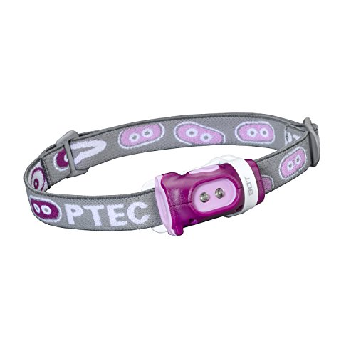 Princeton Tec Bot Headlamp (15 Lumens, Purple/Pink) (Heads E-tec)