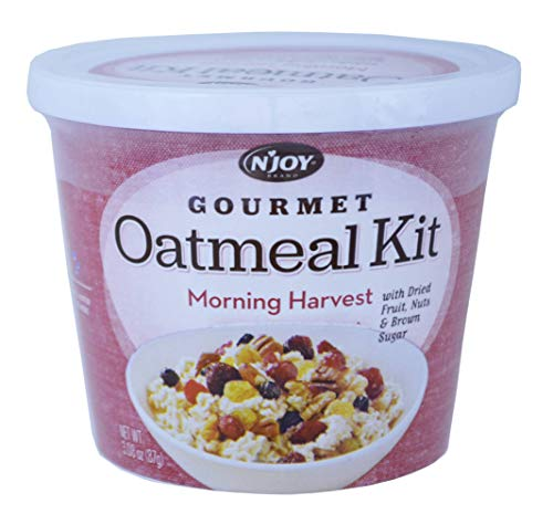 (Njoy Morning Harvest Gourmet Oatmeal Kit, 3.08 Ounce -- 8 per case.)