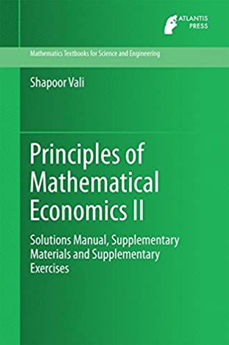 principles of mathematical economics ii solutions manual rh amazon com Material Science Textbook Materials Science and Engineering Book