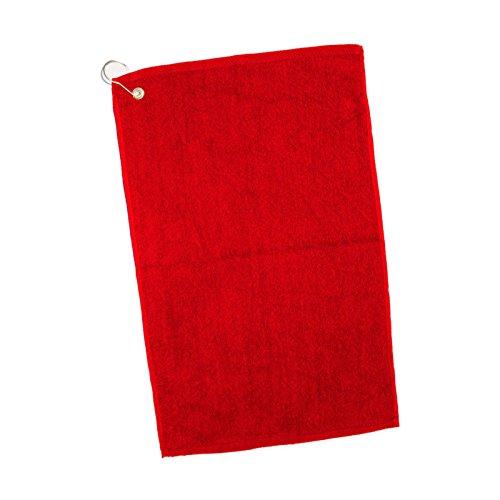 Golf Towels Wholesale - (10 Pack) Set of 10- Affordable Cotton Hand Towels Hemmed Edges (Bulk)