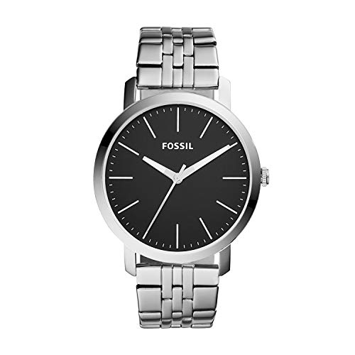 Fossil Men's Quartz Stainless-Steel Strap, Silver, 22 Casual Watch (Model: - Fossil Watch Stainless Mens Steel
