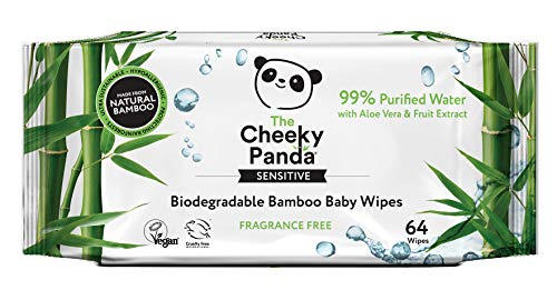 The Cheeky Panda Biodegradable Bamboo Baby Wipes