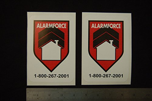 force-security-surveillance-stickers-signs-decal-property-home-cctv-alarm-2pcs