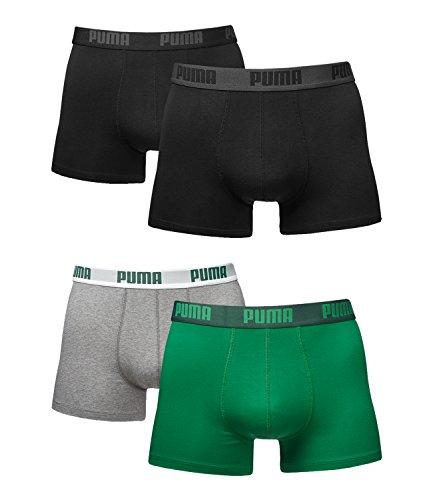 Pack Green Basic De Caballero 230 Puma 075 Calzoncillos grey Boxershort Colores Black Todos Los amazon 4 En nI6Ufq5fx