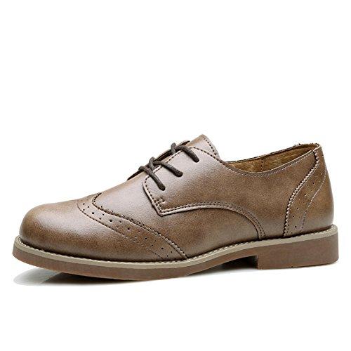 Braddock Mit Kleinen schuhen.,British College Wind Retro Freizeit Flat Bottom Schuhe,Womens Oxford Schuhe A