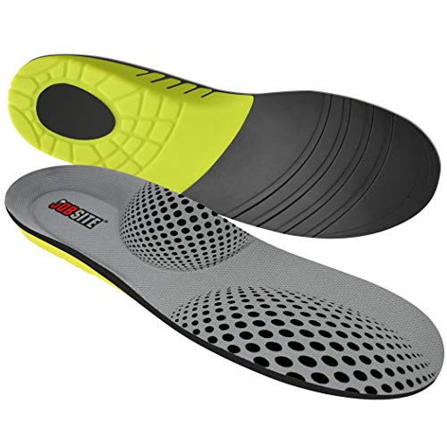 JobSite Power Tuff Anti-Fatigue Support Work Orthotic Insoles - Medium