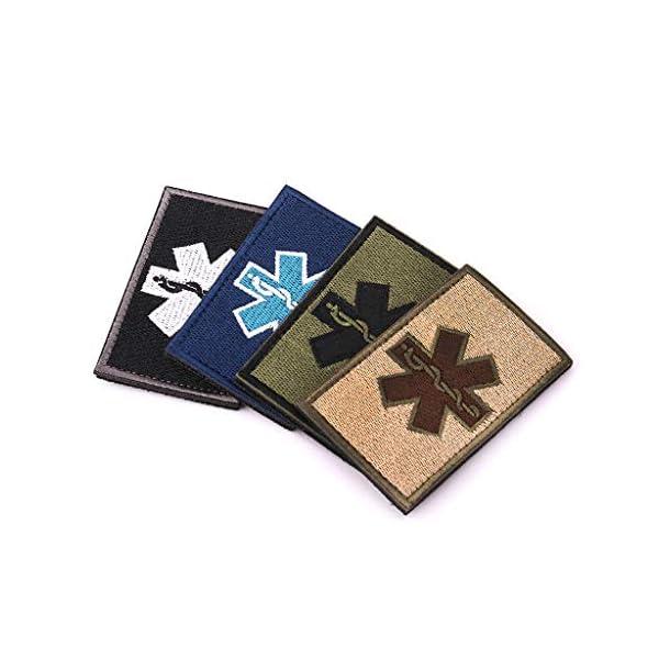 zrshygs Parche de Bordado Técnico de emergencias EMT Insignia de Brazalete de Moral táctica - Azul 14