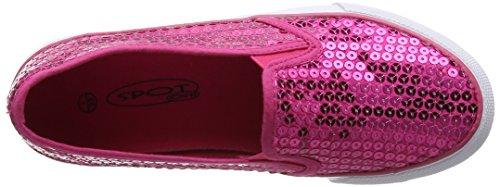 Spot on Mädchen H2365 Low-Top Pink (Fuchsia)
