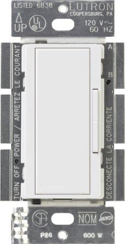- Lutron MA-R-277-WH Maestro 277-Volts Multi-Location Companion Dimmer, White
