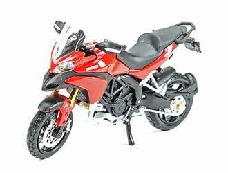 - Ducati Multistrada 1200S in Red (1:18 scale) Diecast Model Motorbike