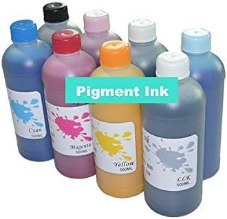 8 color GOWE botella de 500 ml, marcador para ropa de fotos para EPSON 7800 WideFormat diseño de perchero papel de tinta para impresora de tinta: Amazon.es: Bricolaje y herramientas