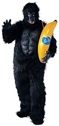 Rubie's Costume Co Men's Gorilla Mascot Costume with Chest Piece, Multi, Standard
