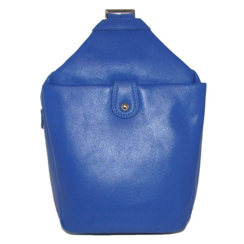 Ili Leather Backpack (Leather Backpack Handbag (Cobalt))