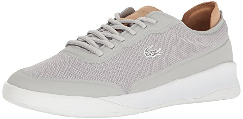 Lacoste Mens Light Spirit Elite 117 3 Sneaker Fashion Casual Grigio Chiaro