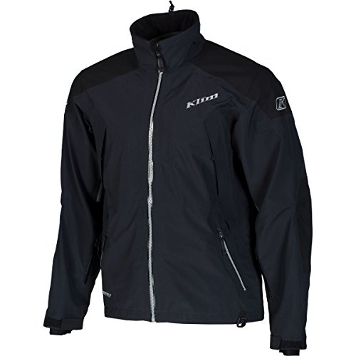 - Klim Stealth Men's Ski Snowmobile Jacket - Black/Large