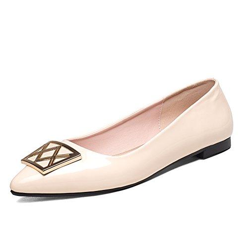 Versión coreana señaló asakuchi zapatos/Zapatos de corte bajo/Plano casuales zapatos A