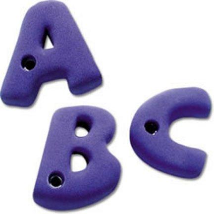 Alphabet Climbing Holds - Alphabet Rock Climbing Wall Hand Holds (Set of 26)