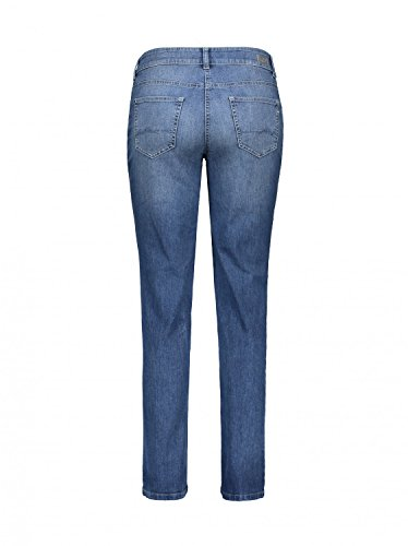 Leg Blue Jeans Women's MAC D640 Melanie Straight Blue gZ1STw
