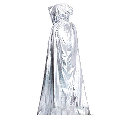 GPAN Cape à capuchon, Robe Magic, Robe d'Halloween, Cape Unisexe, Quatre Couleurs optionnelles, Pour ()