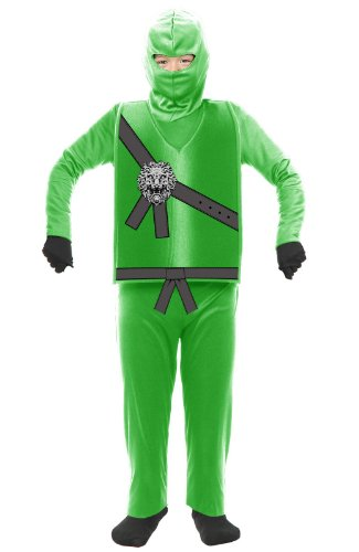 Ninja Avenger Child Costume Green - Small