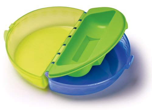 Gerber Graduates Easy Go Folding Bowl, 7 Months, Colors May Vary (Discontinued by Manufacturer) by NUK