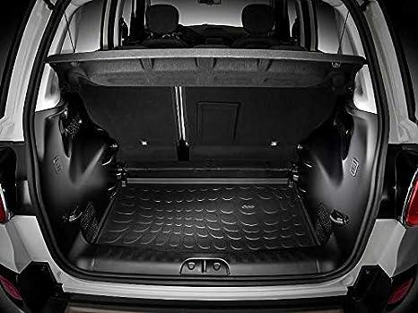 fü Geriffelte Kofferraumwanne für Fiat 500L Pop Star Minivan Kombi 5-türer 2012