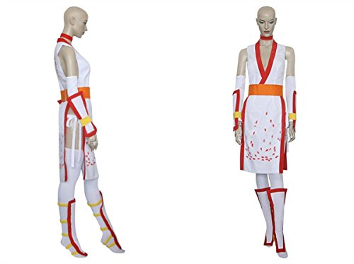 Custom-made Cosplay Costume forDead or Alive Kasumi White
