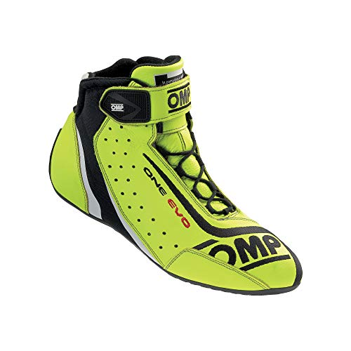 OMP Unisex-Adult ONE EVO Shoes (Fluo Yellow, 44)