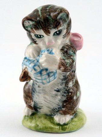 Beatrix Potter Miss Moppet Striped Royal Albert (Doulton Potter Royal Beatrix)
