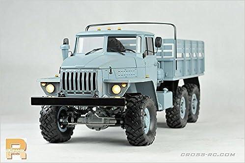 CROSS-RC UC6 6x6 Military 1:12 Scale Truck Kit