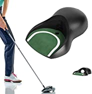 Putting Green Indoor   ABS Plastic Lightweight Automatic Putter Trainer Portable Golf Electric Putting Return