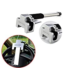 FT8 Steering Wheel lockUniversal Anti Theft Lock Car Steering Wheel Lock Secure Anti-Theft Device with Keys Automotive Anti-Theft